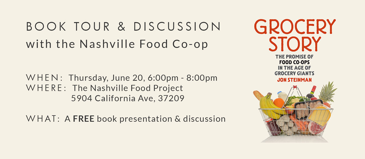 Book Tour & Discussion with the Nashville Food Co-op